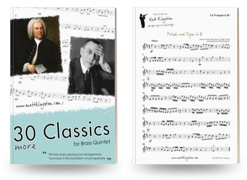 30 More Classics for Brass Quintet